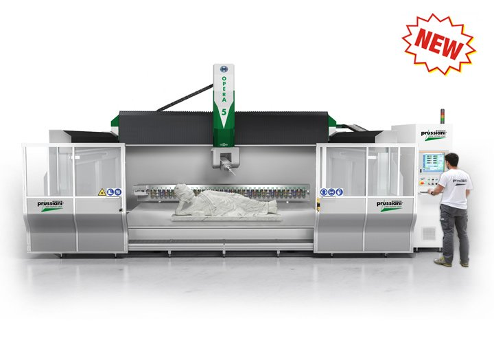 Opera-five-cnc-working-center-contouring-marble