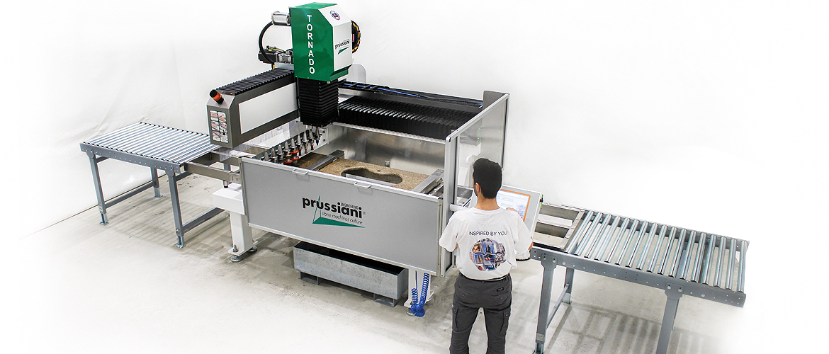 Sink hole machines CNC controlled router designed for optimum cutting and polishing of Kitchen sinks and vanity bowls