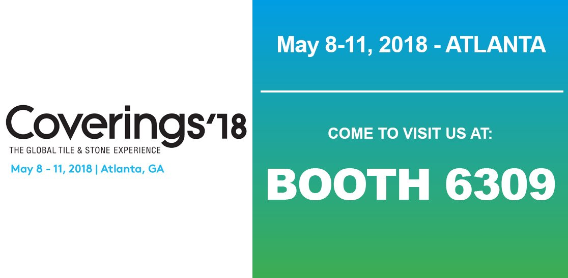 Coverings 2018 - The Global Tile & Stone Experience - Atlanta (USA) - The largest tile and stone show in North America