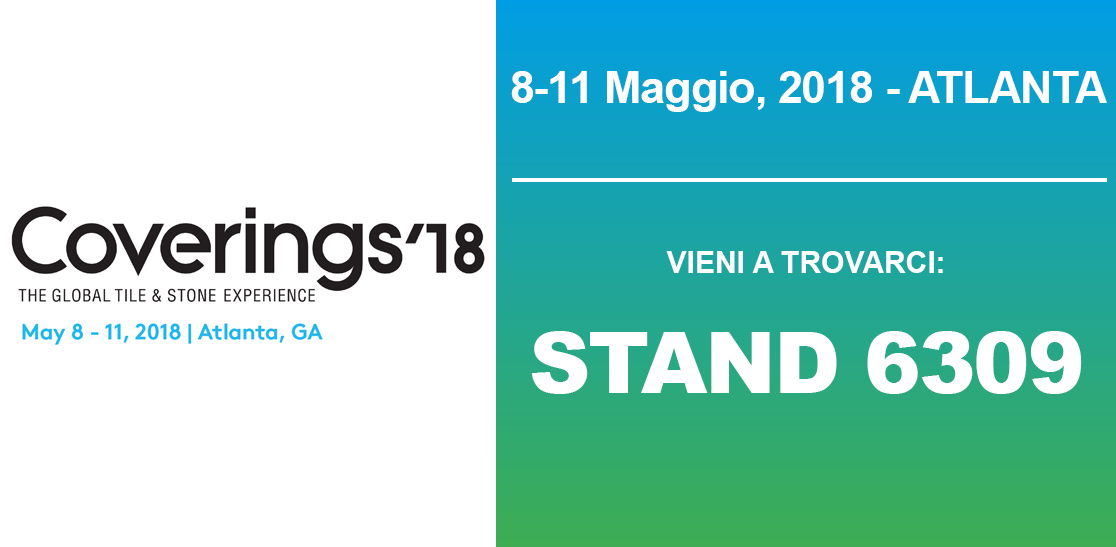 Coverings 2018 fiera, Atlanta (USA) - The Global Tile & Stone Experience - Stand Prussiani