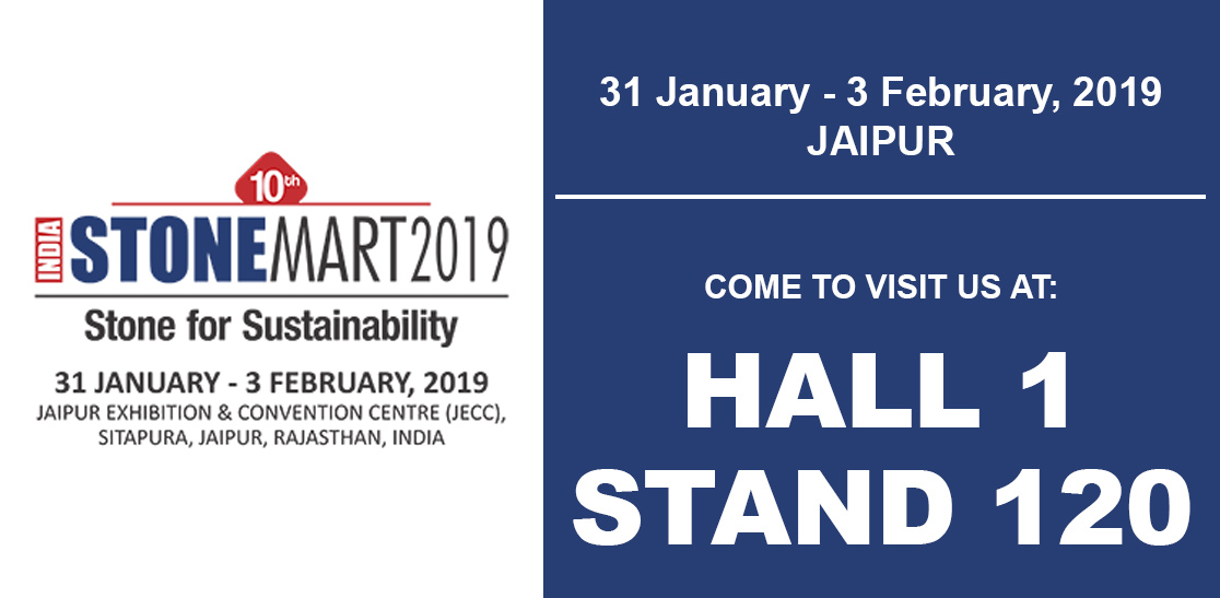 stonemart 2019 Jaipur - stand prussiani engineering