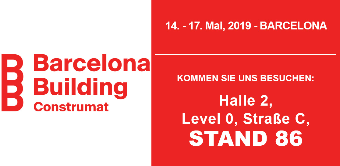 Barcelona Building Construmat - Stand Prussiani: Straße C, Stand 86