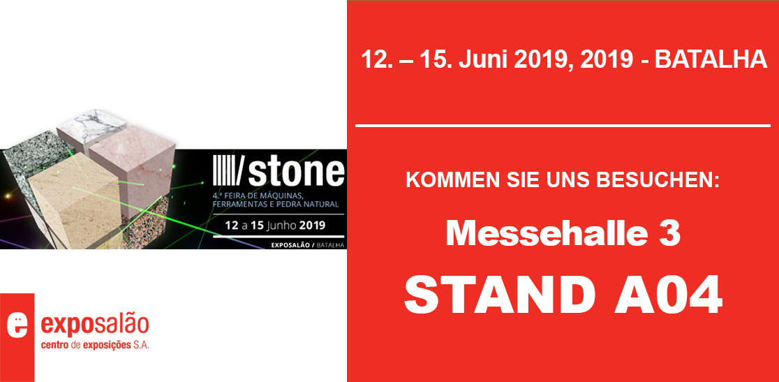 Stone 2019 Batalha Portugal - Messehalle 3 -Stand A04