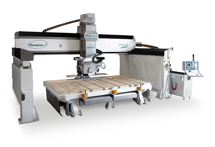 Used machine Champion 5 for processing of stones