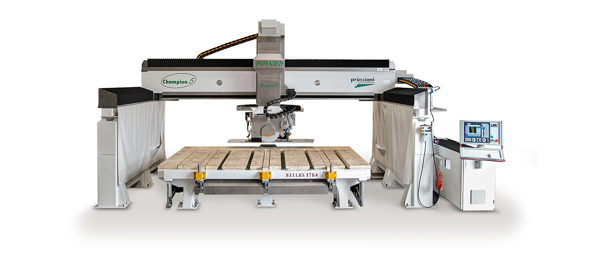 CNC used machine Champion 5 for cutting of marble, stone, granite