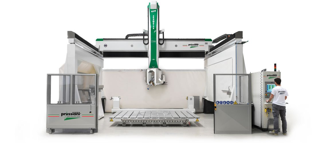 Cnc milling machines New Champion Plus 2200 for cutting marble