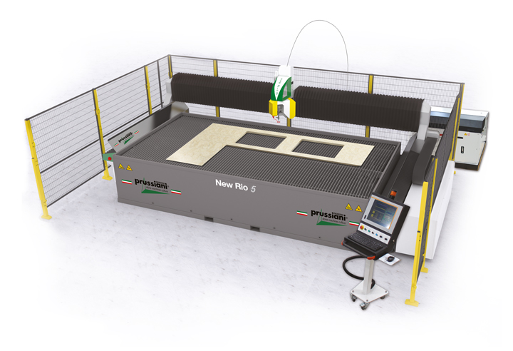 Render Waterjet machines NEW RIO 5